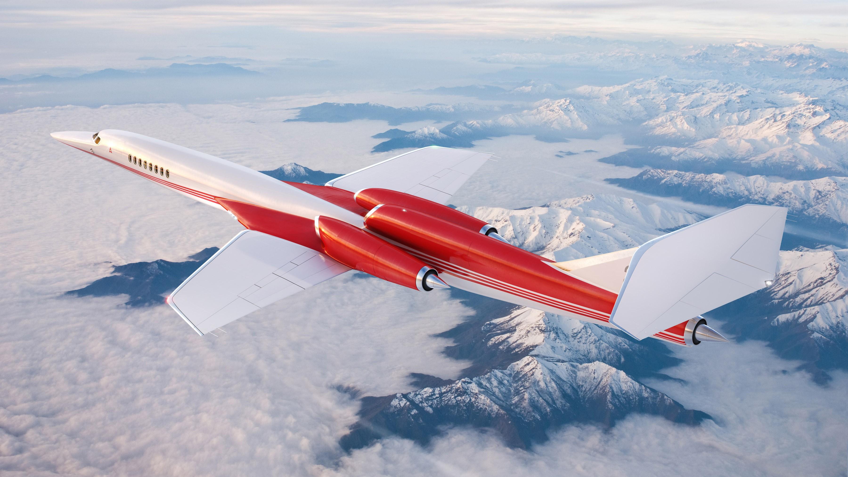 全球首架超音速私人飞机