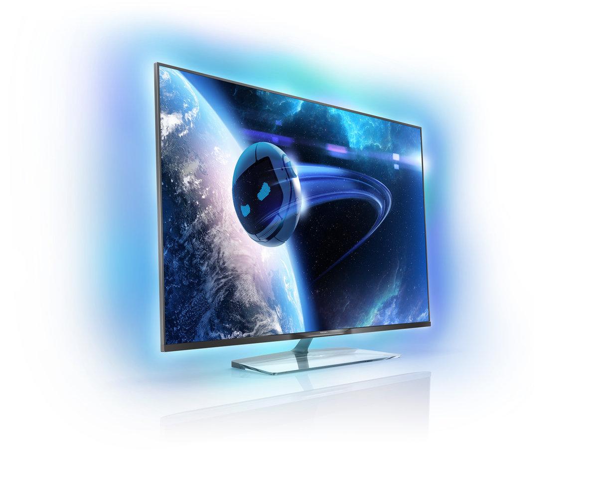 philips新电视机框发光
